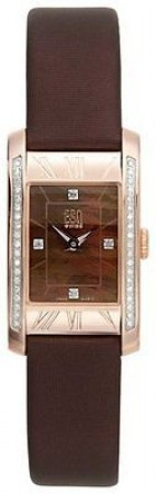ESQ by Movado Women's SWISS Venture Diamond Leather Strap Watch