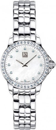 ESQ by Movado Ladies Watch Luxe Mother of Pearl Dial with Diamonds
