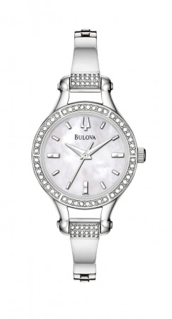 Ladies Bulova Crystal  Collection