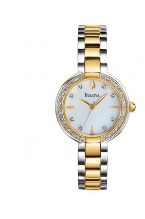 Ladies Bulova Diamond Aracena Collection