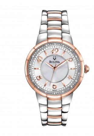 Ladies Bulova Diamond Rosedale Collection