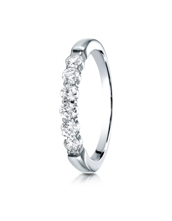 14k 3mm .48ct white gold common prong ring