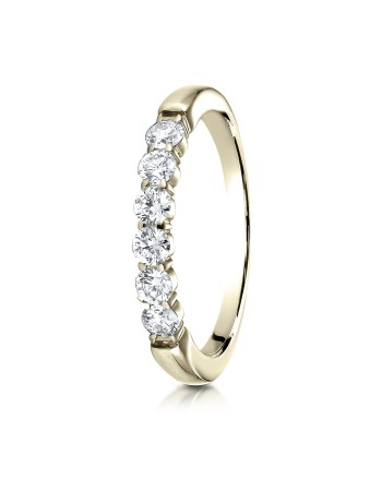 14k 3mm .48ct yellow gold common prong ring