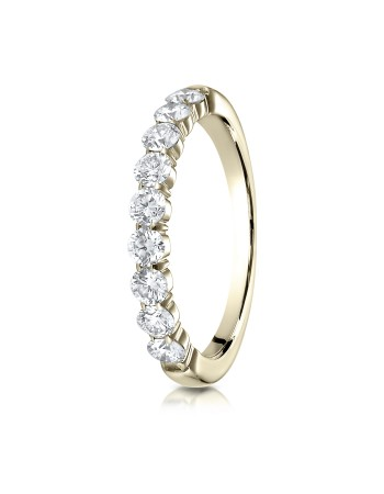 14k 3mm .72ct yellow gold common prong ring