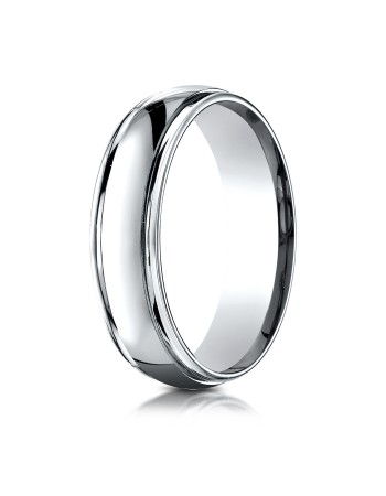 White Gold High polished Ring