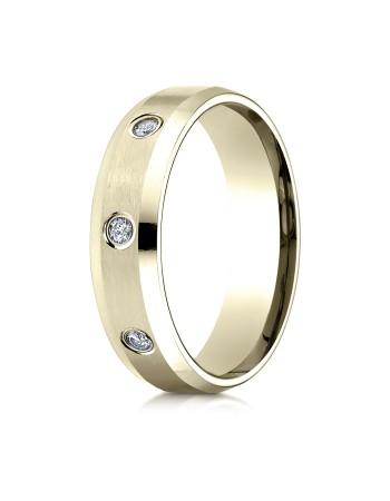 14k .32 ct yellow gold 8 diamond mens ring