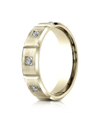 14k .32ct yellow gold burnishh set mens ring