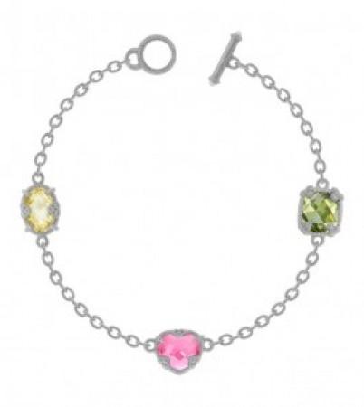 Judith Ripka Fruit color bracelet