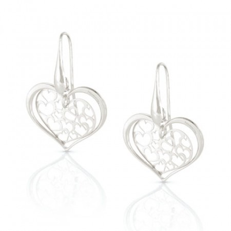 Romantica Earrings w/ Hearts