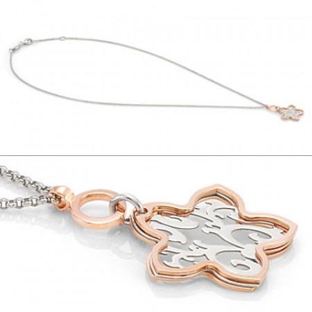 Romantica Pendant w/ Flower Pendant