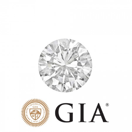 "2.04 Ct. Loose Round Diamond ""H"" Color, ""SI1"" Clarity, GIA Certified"