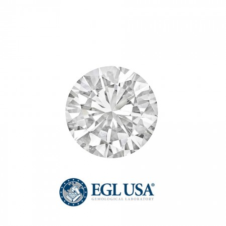 """2.00Ct. Loose Round Diamond """"H"""" Color, """"I1"""" Clarity, EGL USA Certified"""