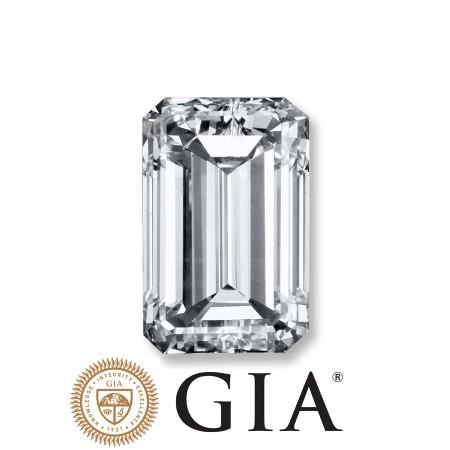 "2.01 Ct. Loose Emerald Cut Diamond ""H"" Color, ""VS2"" Clarity, GIA Certified"