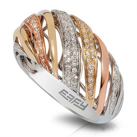 Moderna Tri color ring