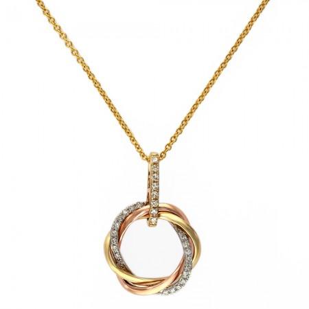Trio circle pendant