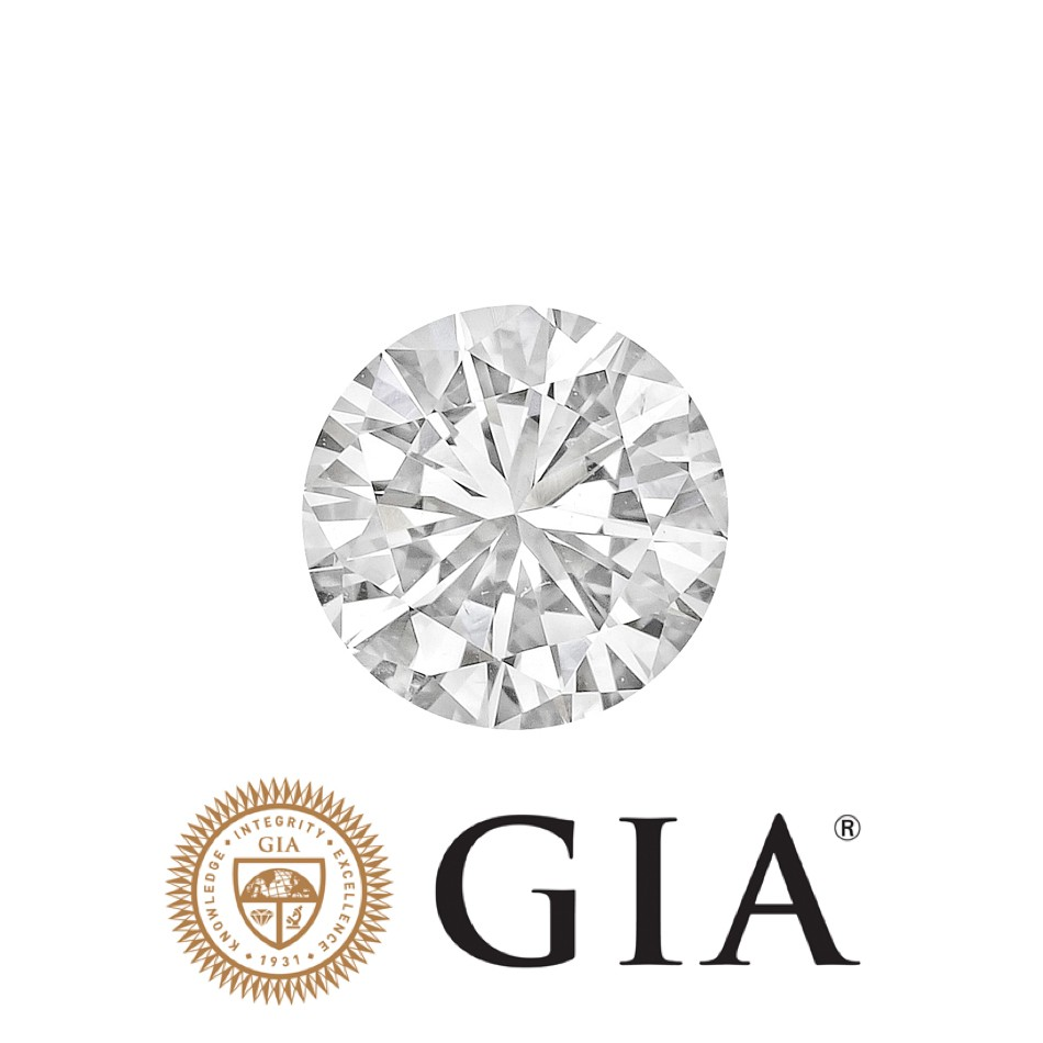 diamonds cut diamond ct gia round brilliant carat good very g certified real image