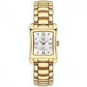ESQ by Movado Ladies Watch Gold Tone Verona Silver Dial with Diamonds