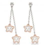 Romantica Earrings W/ 2  Flowers