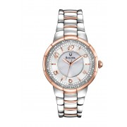 Ladies Bulova Diamond Rosedale Collection