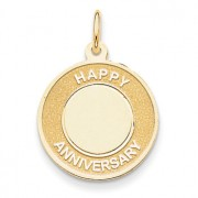 Happy anniversary charm