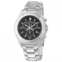 ESQ by Movado Swiss Made Mens Aston Black Dial Chronograph Watch