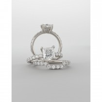 Princessa diamond engagement ring
