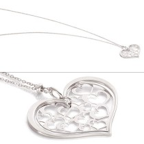 "32"" Romantica Pendant w/ Hanging Heart"