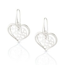 Romantica Earrings w/ Hearts