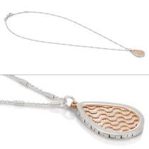 Two Tone Laila pendant