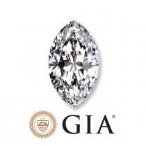 "1.07 Ct. Loose Marquise Cut Diamond ""D"" Color ""SI2"" Clarity GIA Certified"