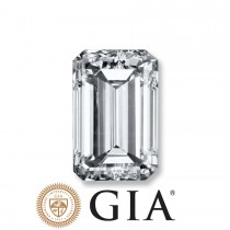 "2.01 Ct. Loose Emerald Cut Diamond ""H"" Color, ""VS2"" Clarity, GIA Certified"