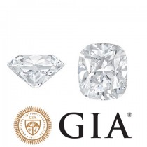 "1.00 Ct. Loose Cushion Cut Diamond ''H"" Color, ""SI1"" Clarity, GIA Certified"