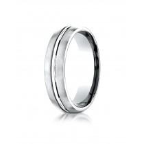 14k white gold carved Ring