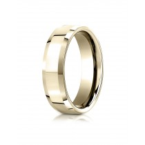 14k yellow gold High polished ring