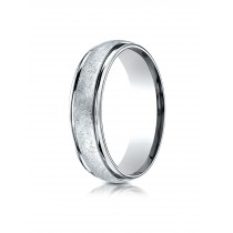 14k White Gold Wire finished ring