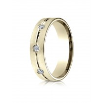 14k .32 ct yellow  gold mens designer ring