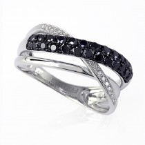 14k prism diamond ring