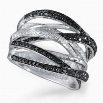 14k prism diamond ring