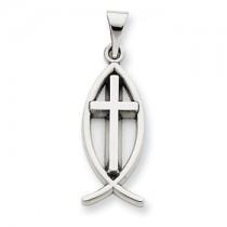 Ichthus religious pendant