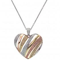 Trio Heart Pendant