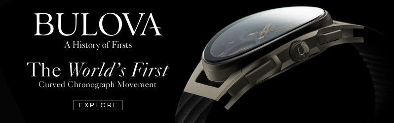 Bulova Curved Watch